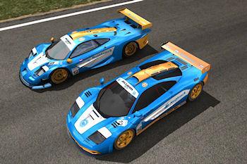 McLaren F1 GTR Meijdonck uit GTR2
