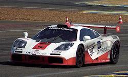 Peter Kox tijdens Le Mans 1996