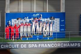 WEC Spa-Francorchamps podium