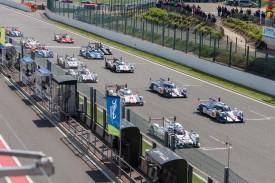 WEC Spa-Francorchamps rollende start