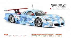 Nissan R390 GT1 - n.31 24h Le Mans 1998