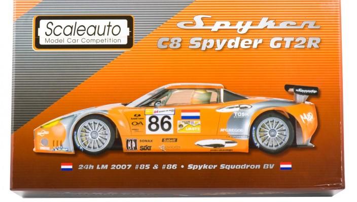 Spyker C8 Spyder GT2R LeMans 2007