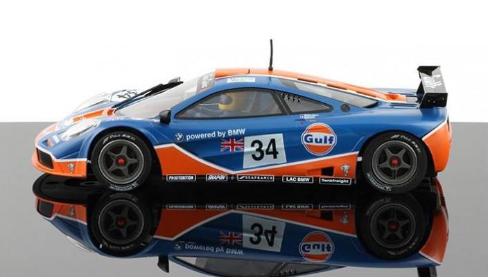 McLaren F1 GTR Gulf - MrSlotCar