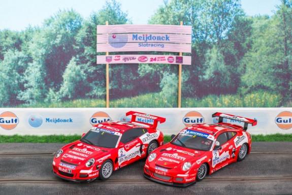 Porsche Supercup 2006 van Scalextric en Ninco