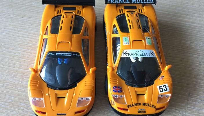 McLaren F1 GTR LM en Muller