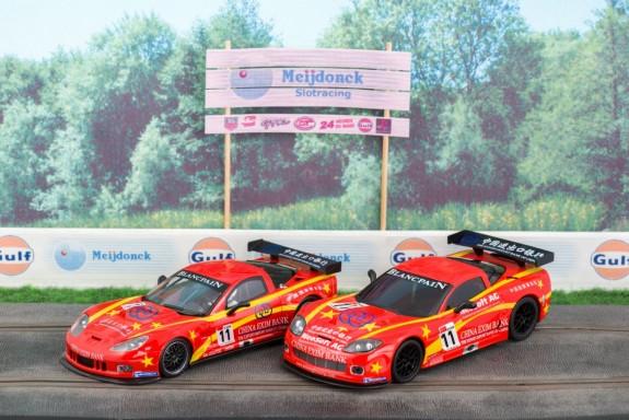 NSR en Ninco Corvette C6R FIA GT 2011