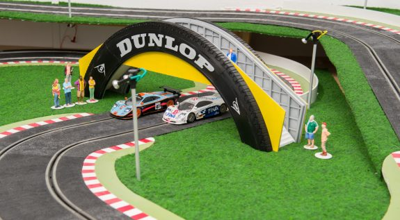 Dunlop Bridge geprint met UltiMaker 2 op circuit Meijdonck