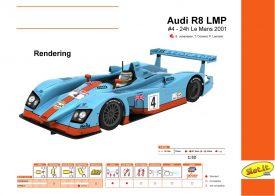 Audi R8 LMP - #4 - 24h Le Mans 2001