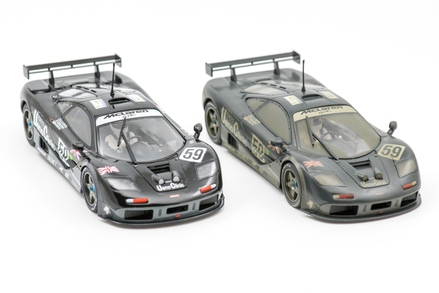 Scalextric Ueno Clinic normaal (C3965A) en Weathered (C4103)