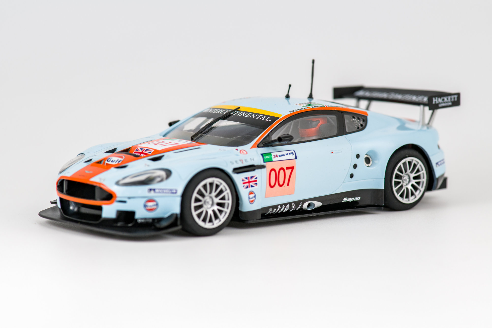 Aston Martin DBR9 LeMans 2008 - Scalextric ROFGO Collection Gulf Triple Pack