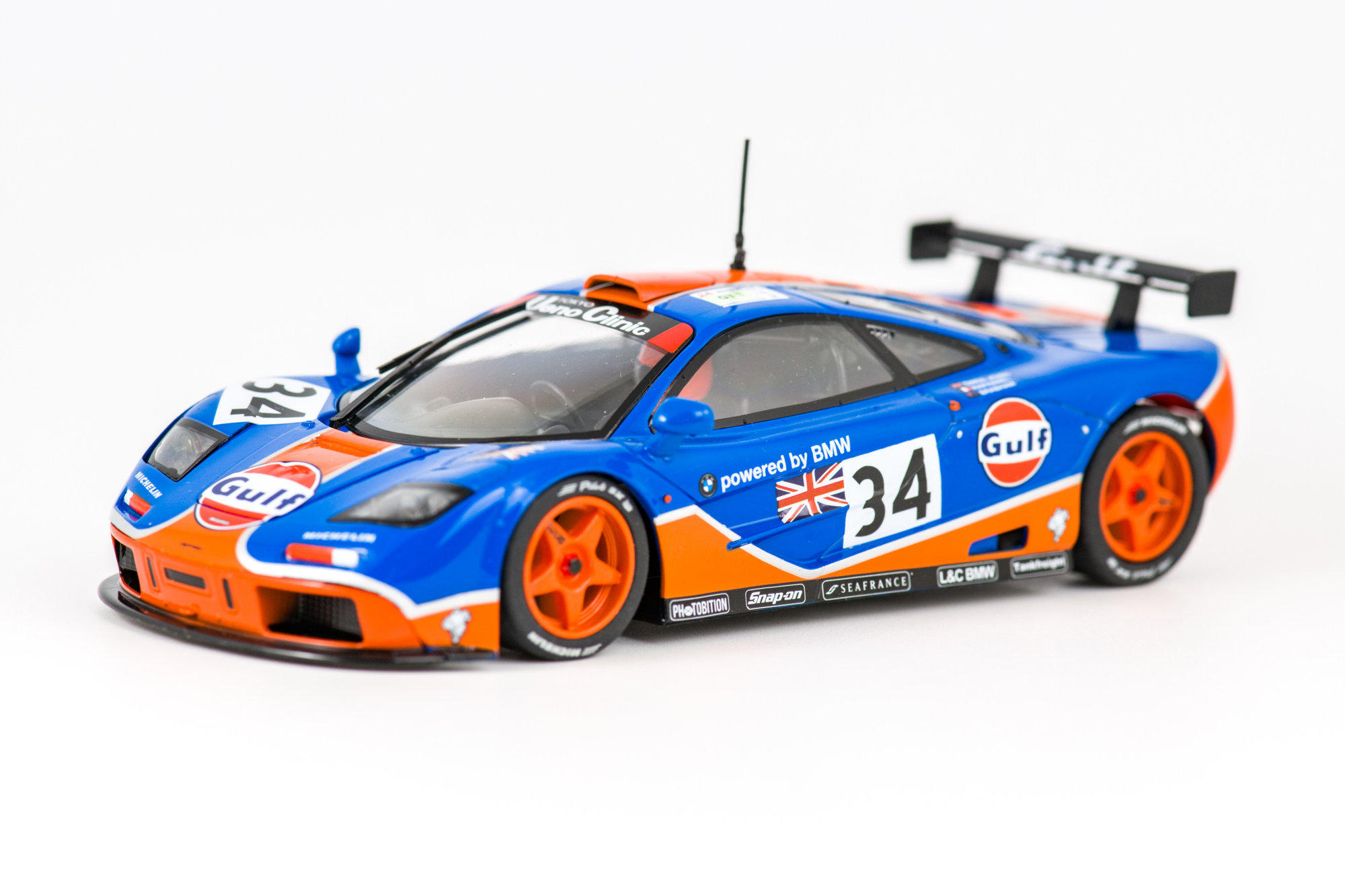 McLaren F1 GTR LeMans 1996 - Scalextric ROFGO Collection Gulf Triple Pack