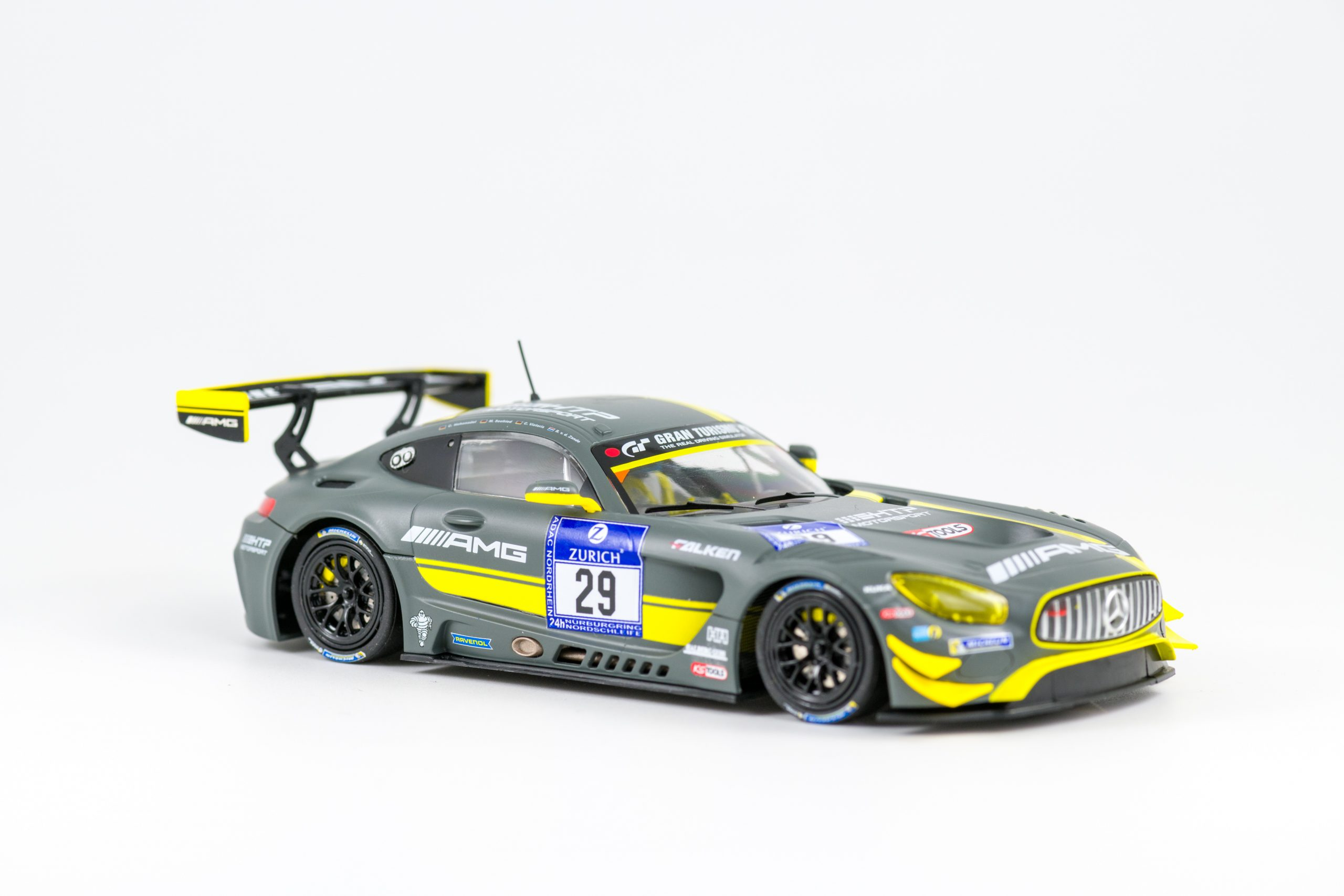 Mercedes-AMG GT3 No.29 KS Tools, Nurburgring 2016 2nd